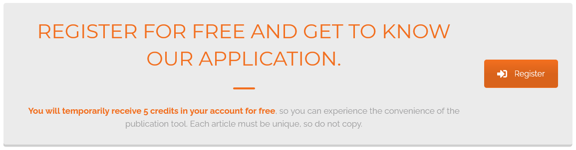 Blogdrip registration button